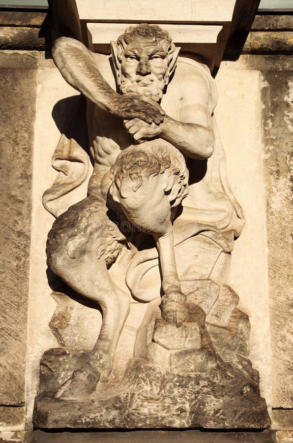 Estátua do Centaur imagens de stock royalty free