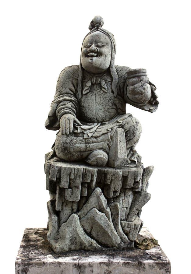 Estátua do chinês imagem de stock