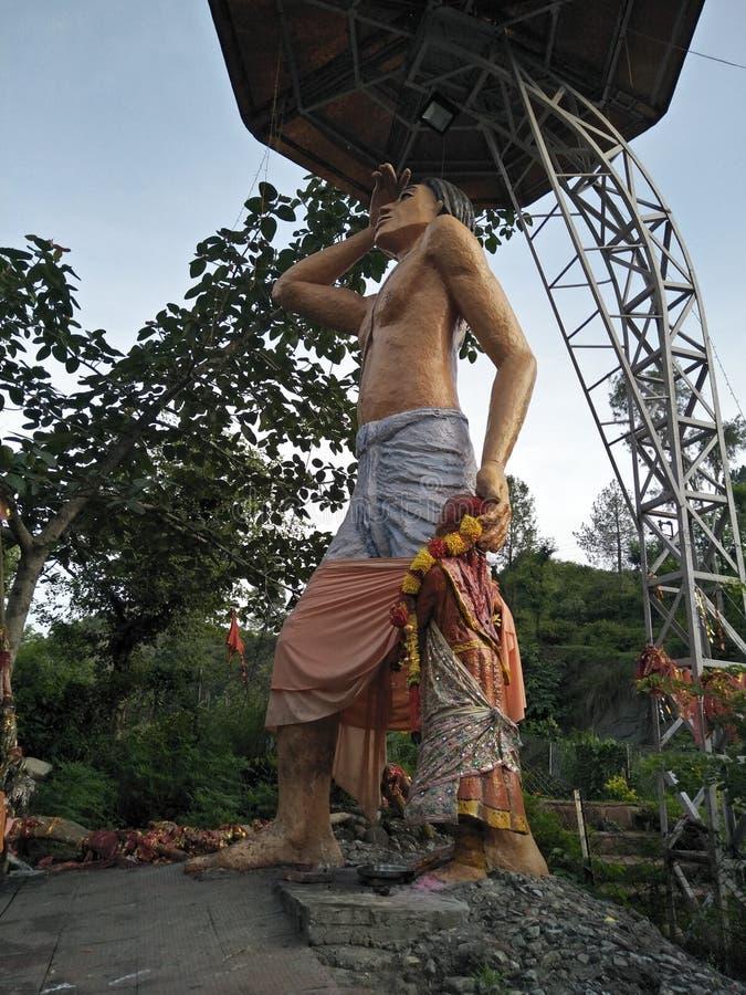 Estátua do deus foto de stock