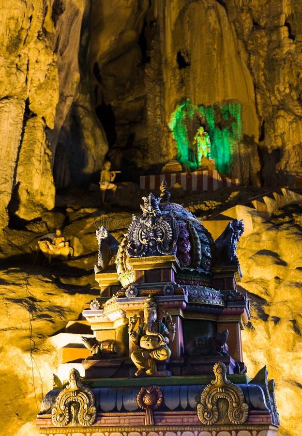 A estátua do deus em Batu desaba, Kuala Lumpur imagem de stock royalty free