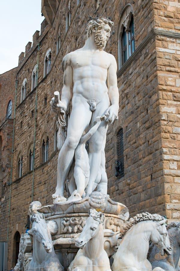 Estátua do deus Netuno imagem de stock royalty free
