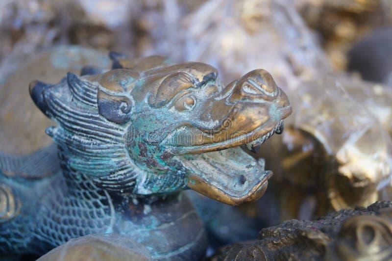 Estátua do dragão fotografia de stock royalty free