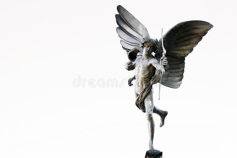 Estátua do Eros fotografia de stock