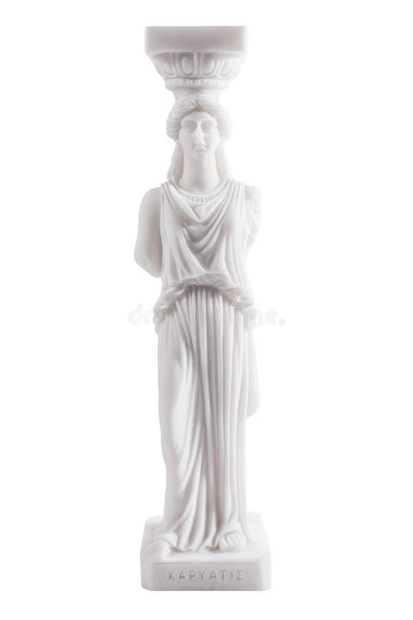 Estátua do grego clássico fotografia de stock royalty free