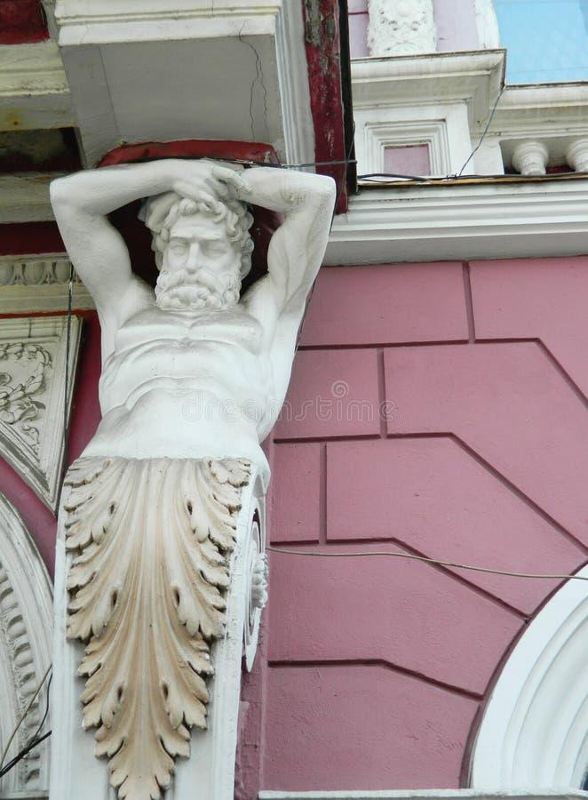 Estátua do homem fotos de stock royalty free
