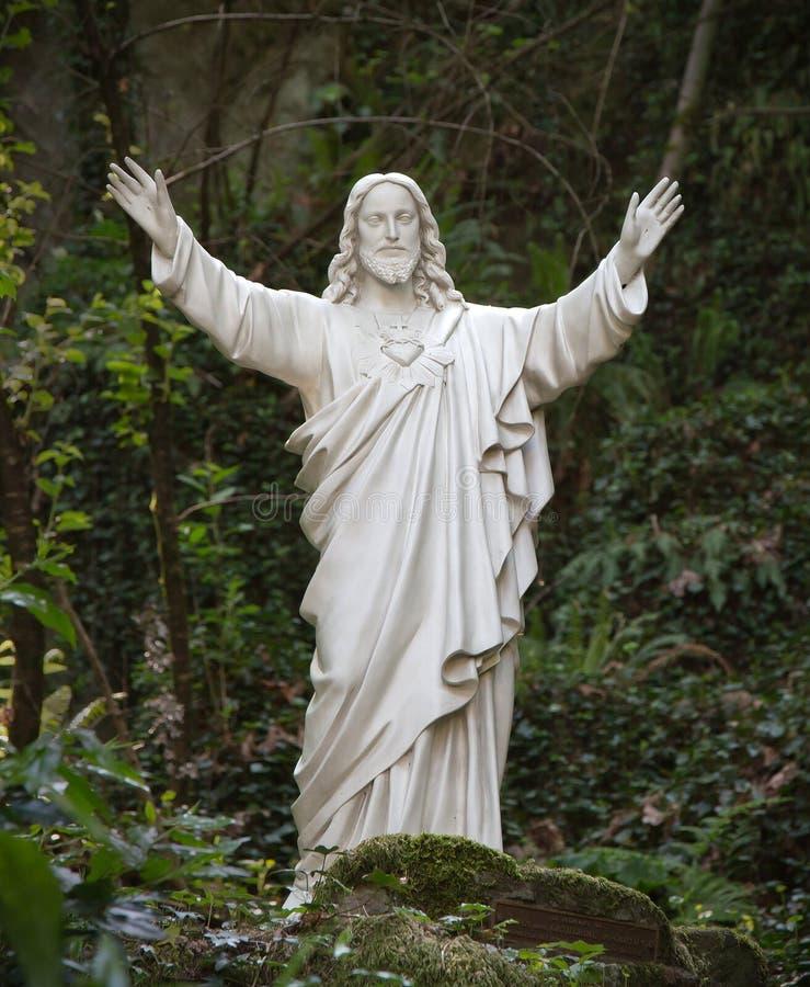 Estátua do Jesus Cristo foto de stock