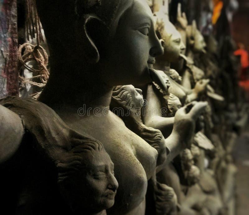 estátua do kali da deusa fotos de stock