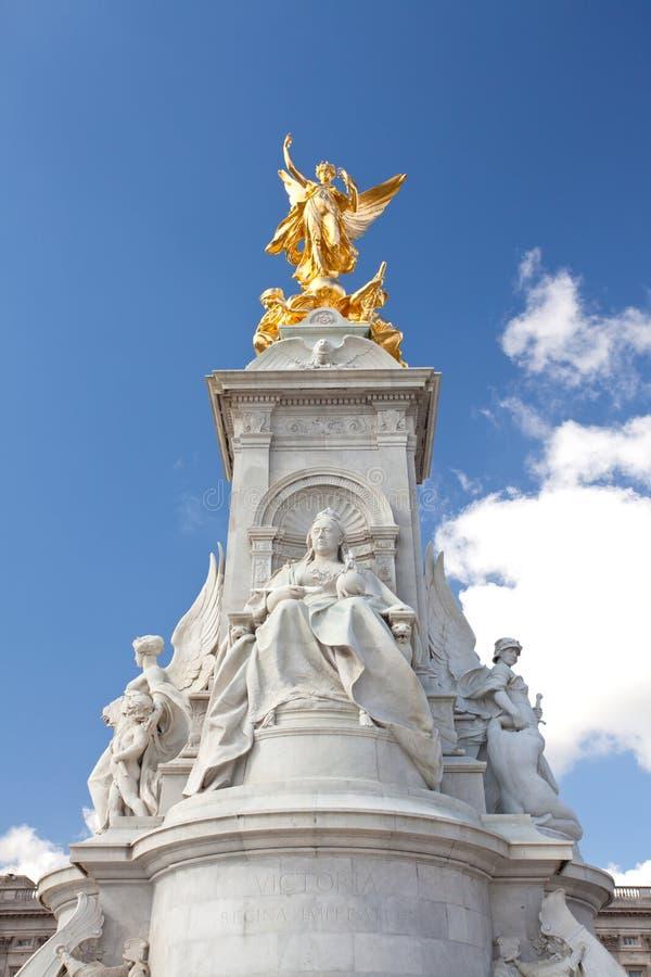 Estátua do memorial da rainha Victoria imagens de stock royalty free