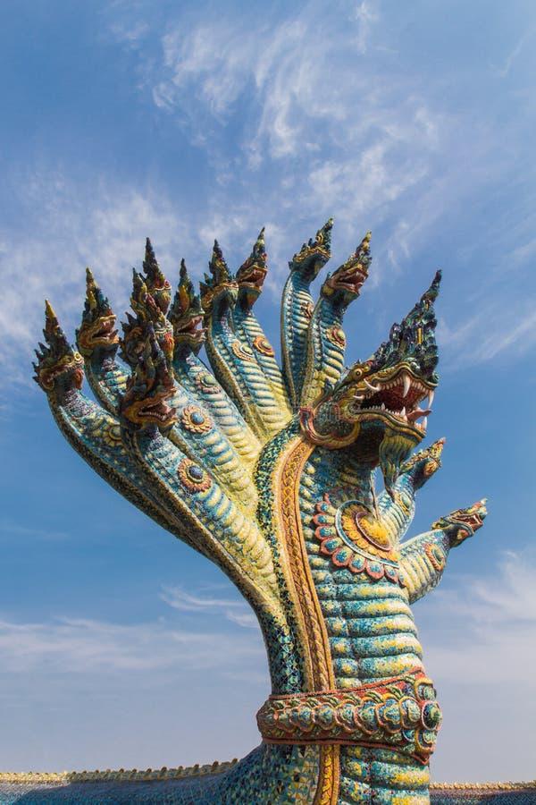 Estátua do Naga foto de stock royalty free
