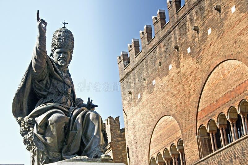 Estátua do papa fotos de stock royalty free