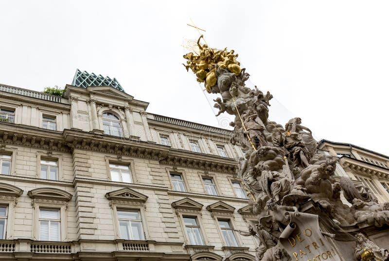 Estátua do praga Viena foto de stock