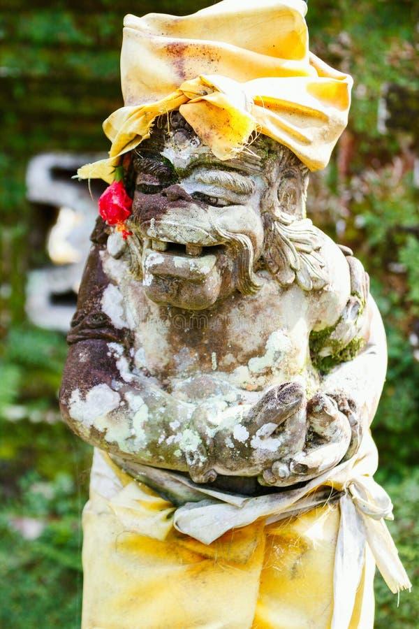 Estátua do protetor do demônio do Balinese imagem de stock