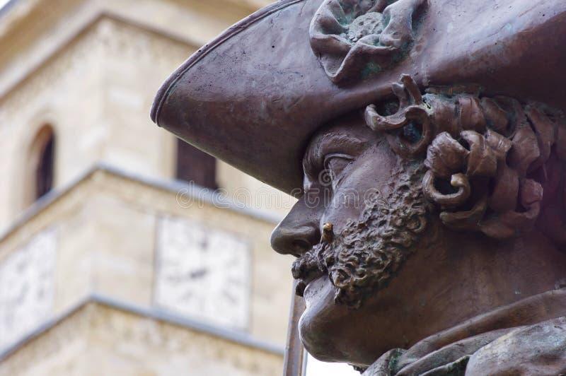 Estátua do retrato imagens de stock royalty free