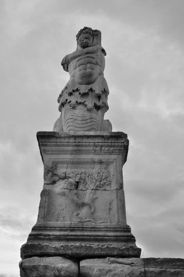 Estátua do tritão de Triton imagem de stock royalty free