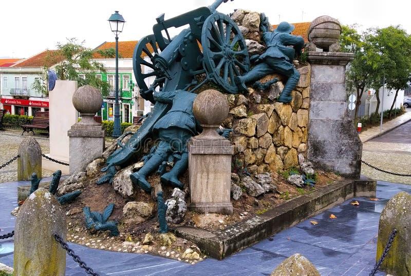 Estátua dos soldados da primeira guerra mundial imagem de stock