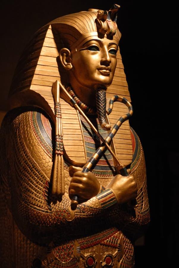 Estátua egípcia fotografia de stock