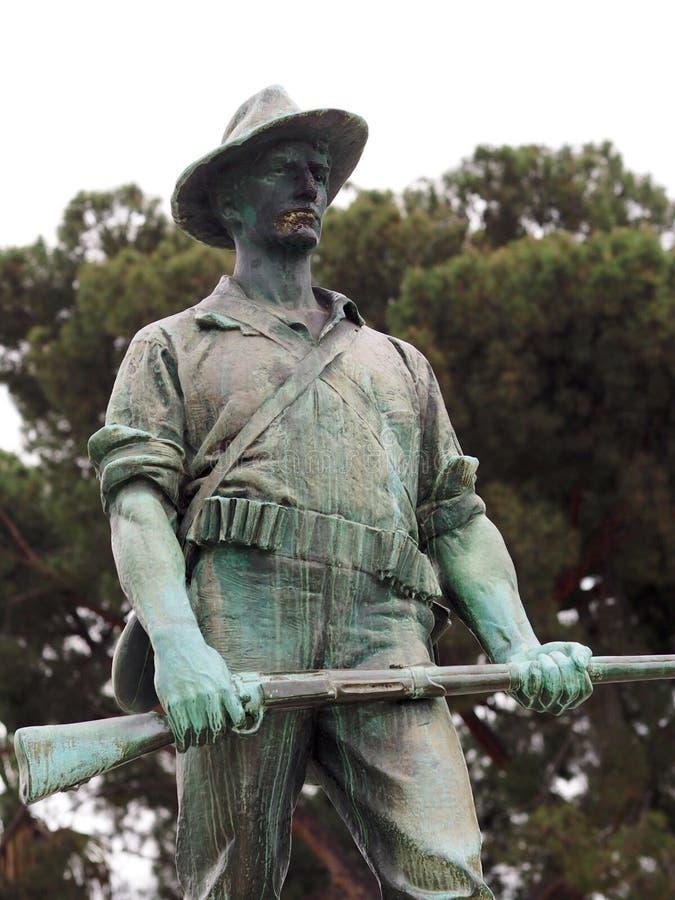 Estátua encontrada em Santa Anita Park imagens de stock