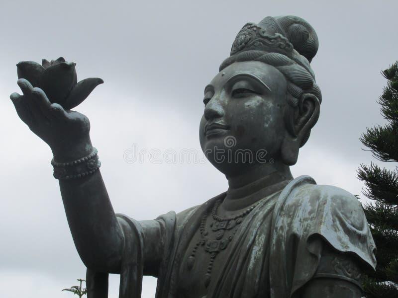 Estátua femaile chinesa fotografia de stock royalty free