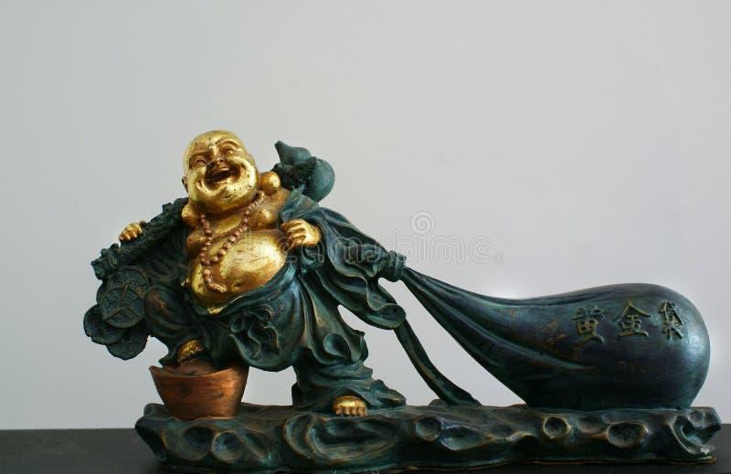 Estátua g da Buda foto de stock