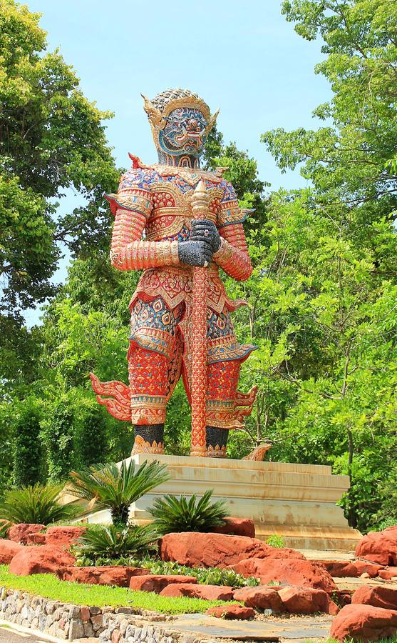Estátua gigante foto de stock royalty free