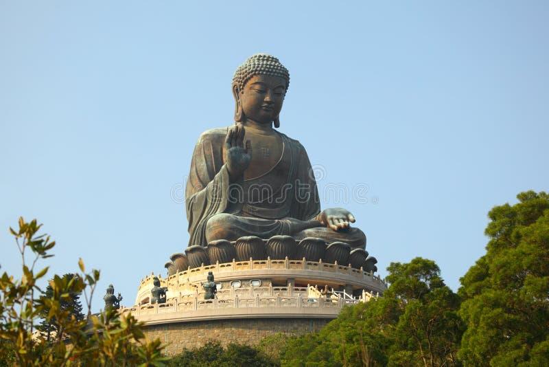 Estátua gigante de Buddha foto de stock royalty free