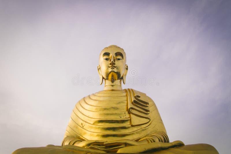 Estátua gigante Tailândia da Buda fotografia de stock
