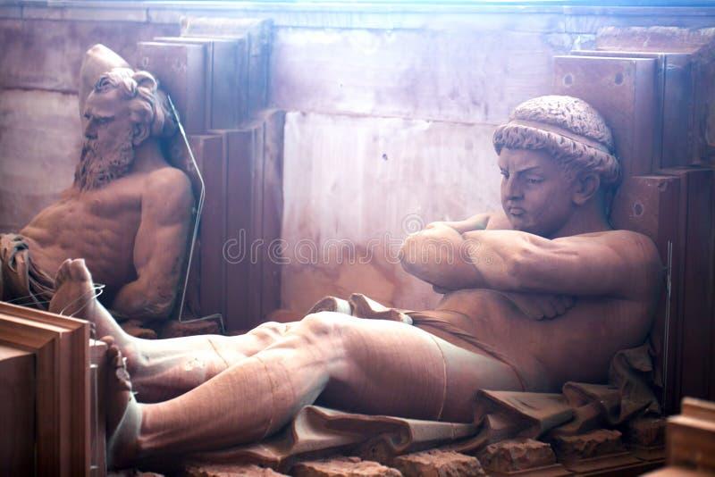 Estátua grega do deus da mitologia imagem de stock royalty free
