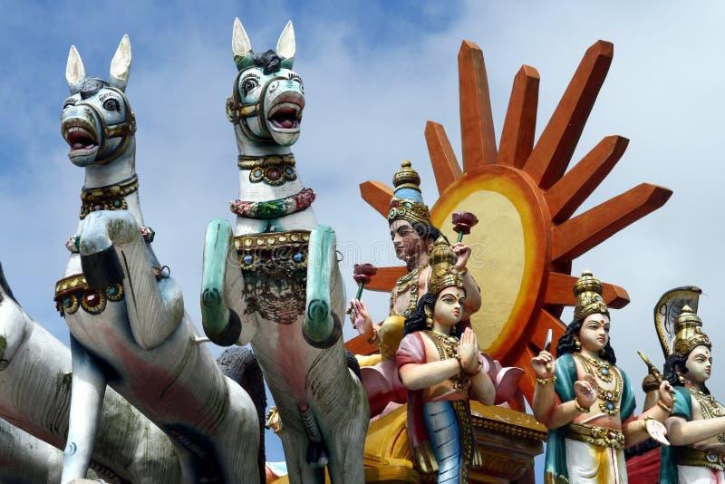 Estátua Hindu imagens de stock royalty free