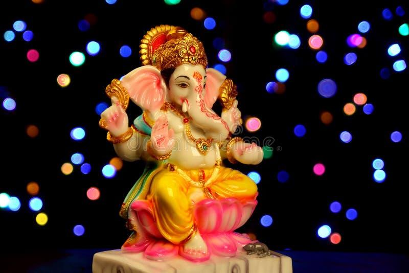 Estátua hindu do ganesha do deus imagem de stock royalty free