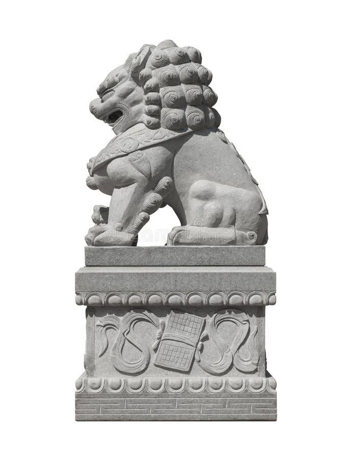 Estátua imperial chinesa do leão fotos de stock royalty free