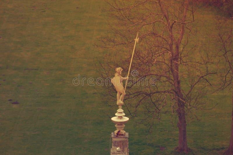 Estátua má de Muskau Muzakow do cavaleiro imagem de stock