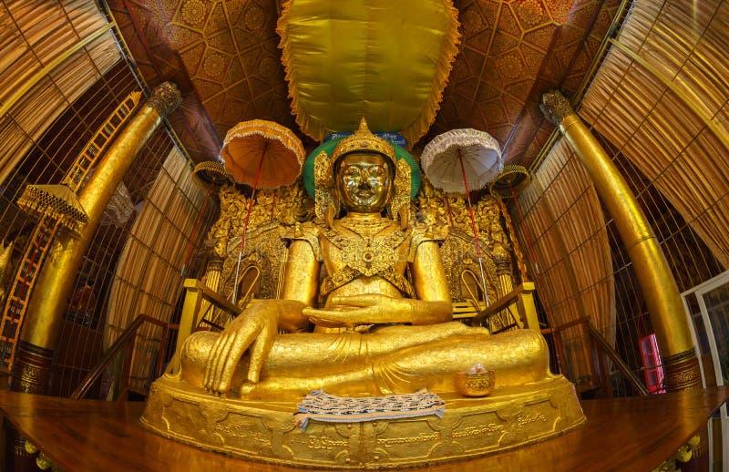 Estátua Mahamuni foto de stock royalty free