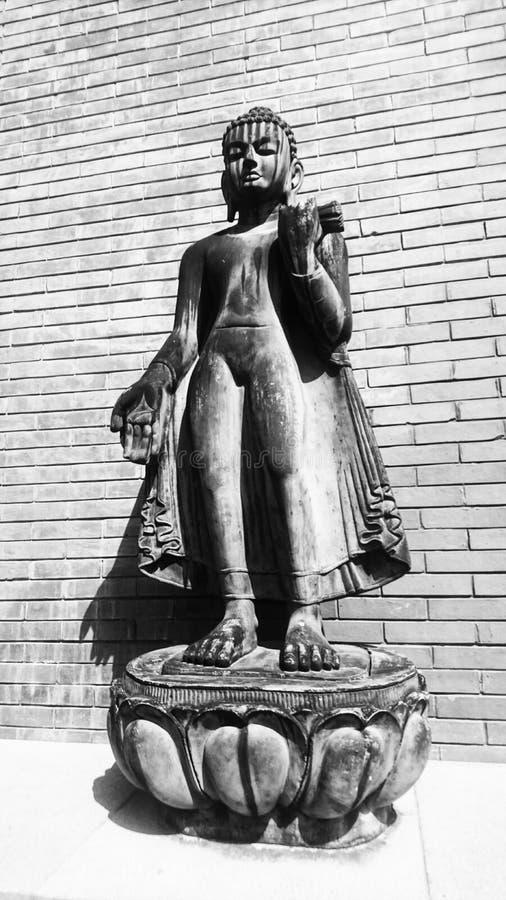 Estátua na figura da escultura de China imagens de stock royalty free