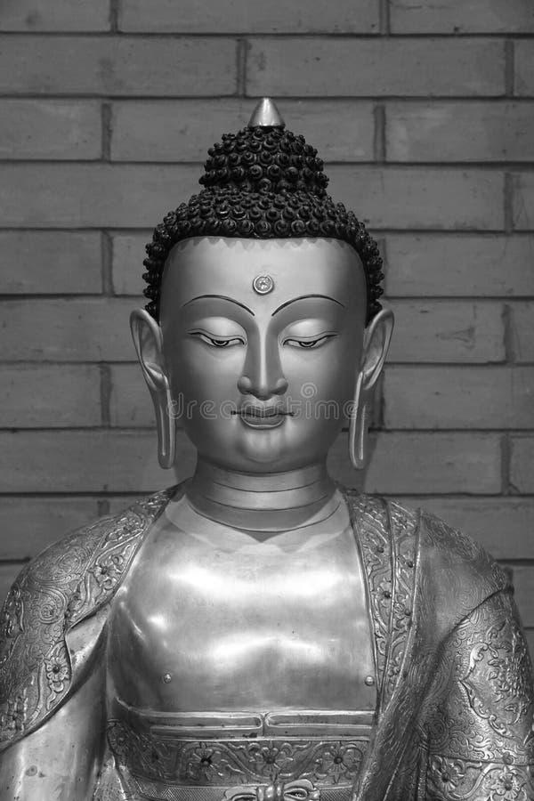 Estátua na figura fé da escultura de China de Ásia da religião religiosa foto de stock
