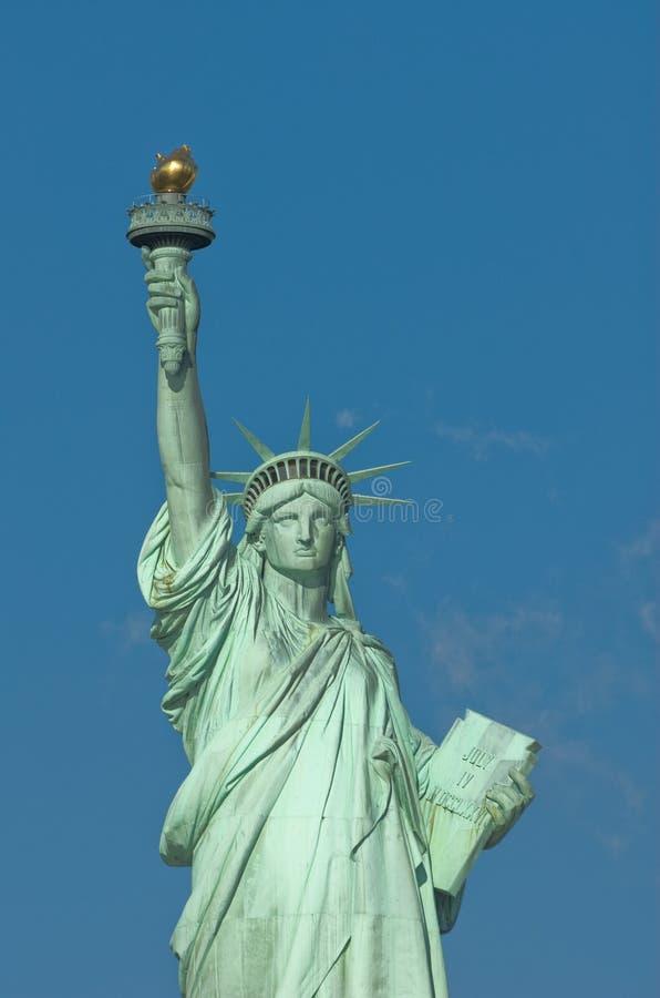 Estátua New York EUA da liberdade fotografia de stock