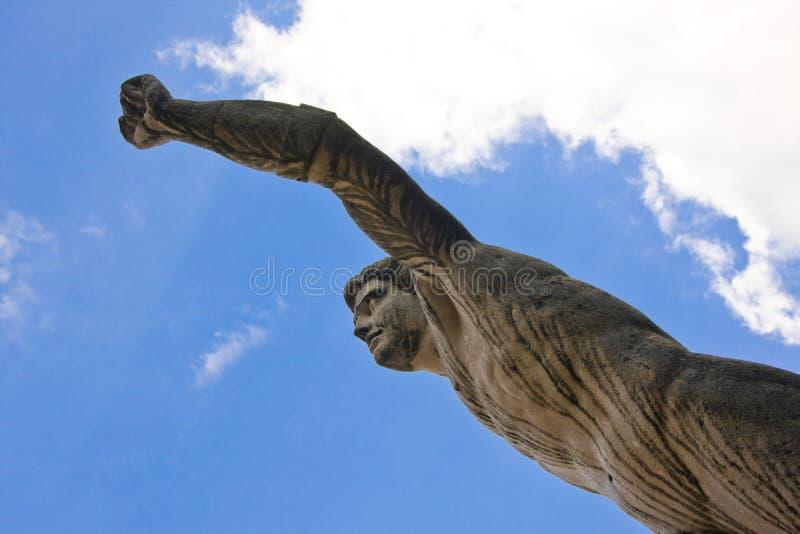 Estátua no jardim do mirabell, salzburg imagens de stock
