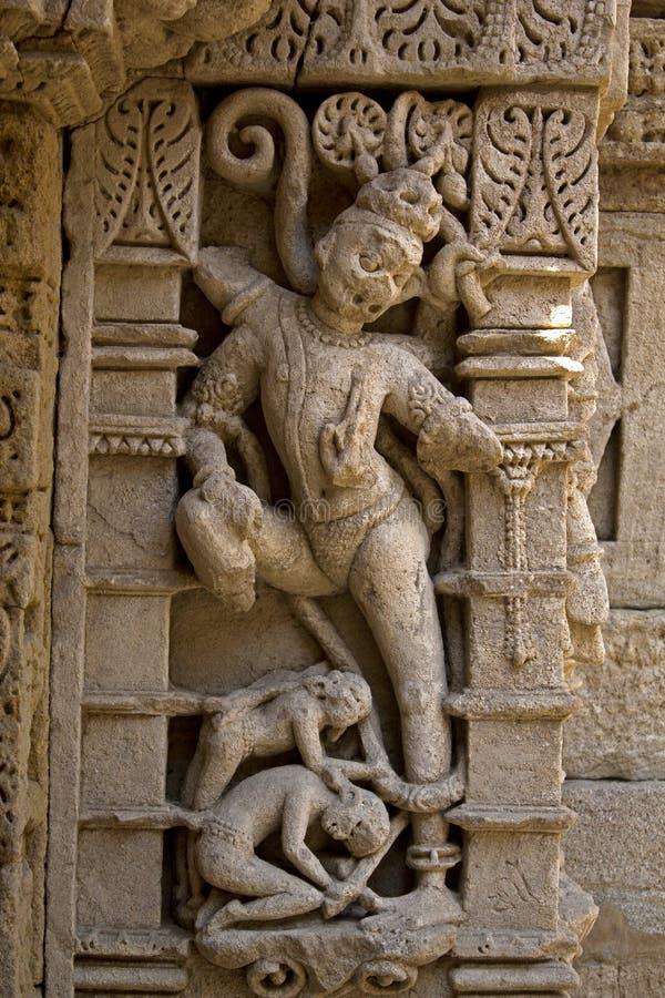Estátua no ki Vav dos ranis imagens de stock royalty free
