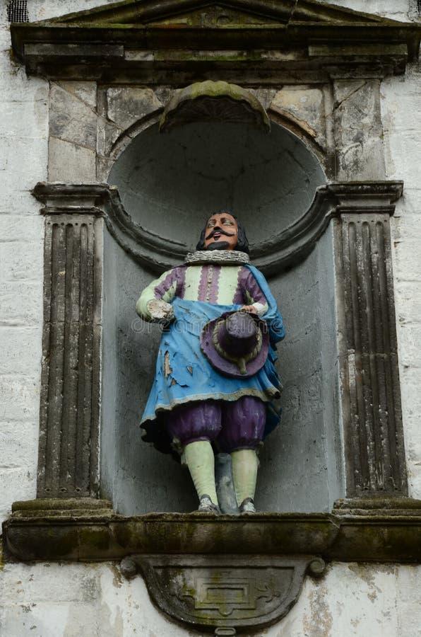 Estátua pintada fotos de stock royalty free