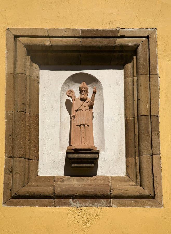 Estátua religiosa da rua fotografia de stock