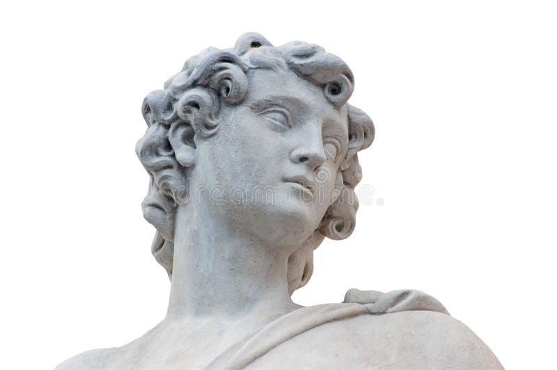 Estátua romana imagens de stock royalty free