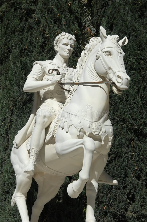 Estátua romana 7 foto de stock royalty free