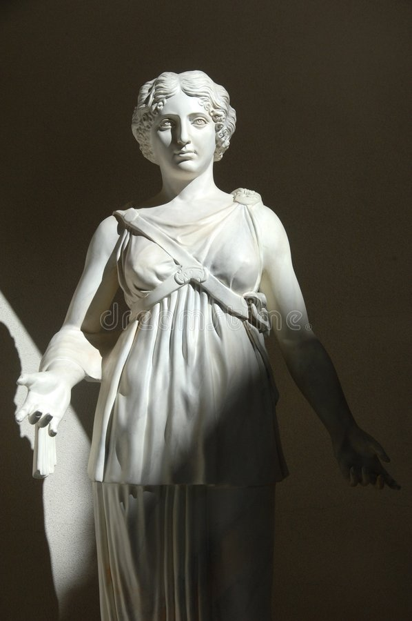 Estátua romana 9 foto de stock