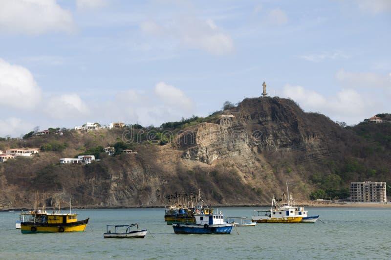 Estátua San Juan del sur Nicarágua fotos de stock