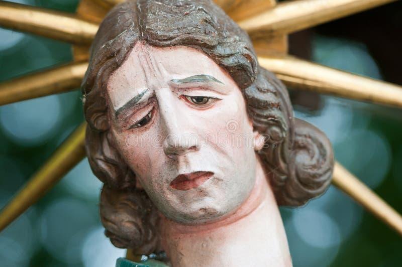 Estátua santamente Maria Magdalena fotografia de stock