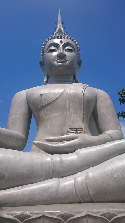 Estátua Tailândia de Buddha imagem de stock royalty free
