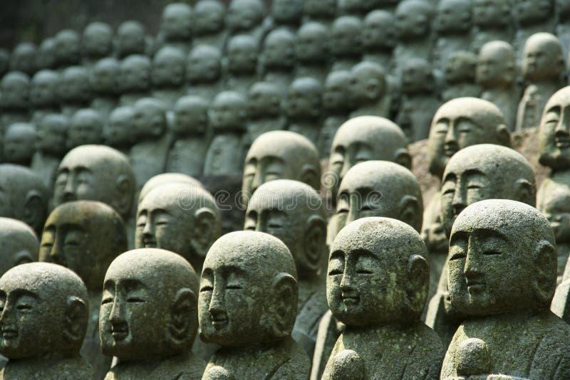 Estátuas da monge fotos de stock