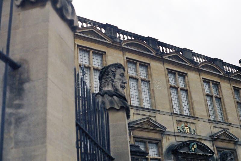 Estátuas da rua larga, Oxford imagem de stock royalty free