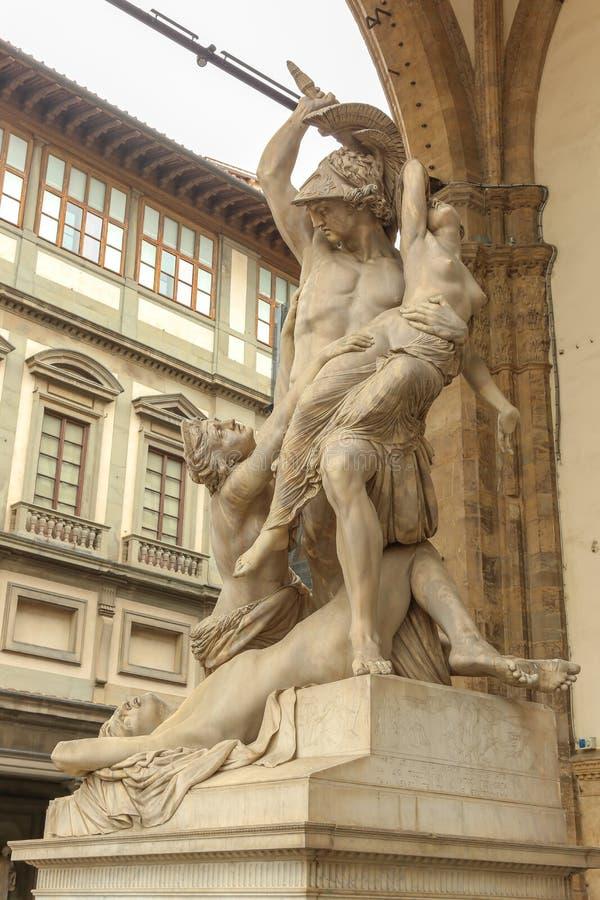 Estátuas de Florença fotos de stock royalty free