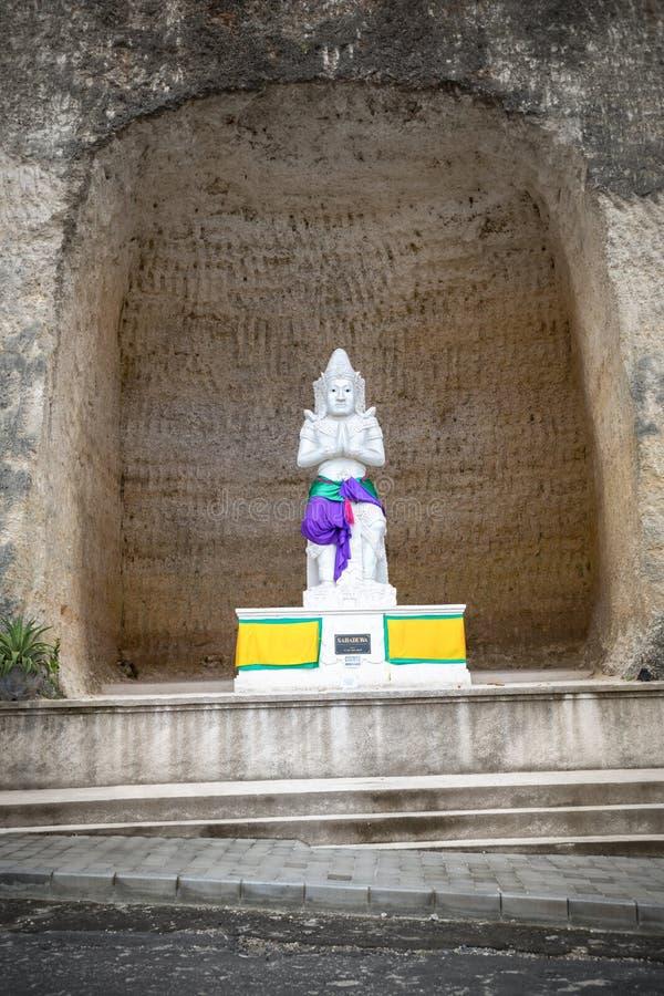 Estátuas do deus de Sahadewa fotografia de stock
