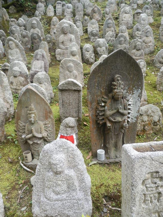 Estátuas em um santuário foto de stock royalty free